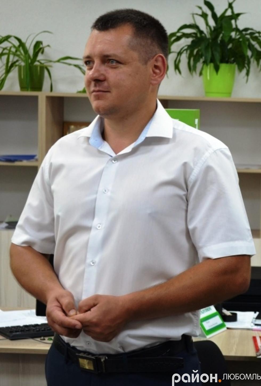 Керівник відділу ЦНАПу Любомльської міської ради Іван Маїло