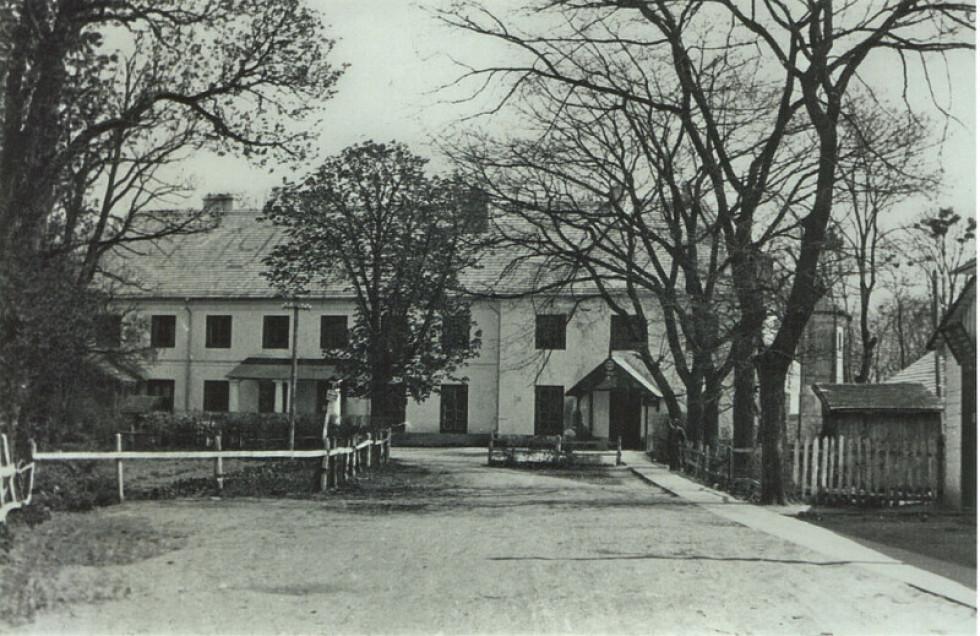 Палац Браницьких. 1930-ті роки