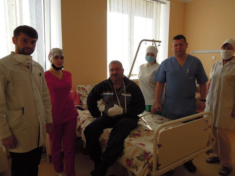 Травматологи Любомльської лікарні опанували нові методи лікування