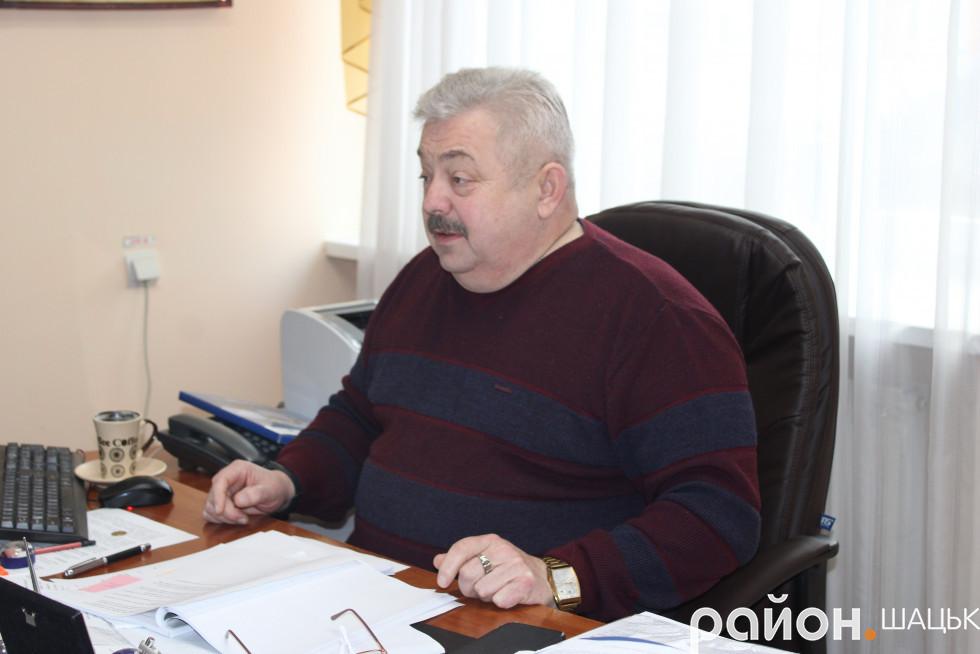 Генеральний директор Любомльського ТМО Володимир Дибель