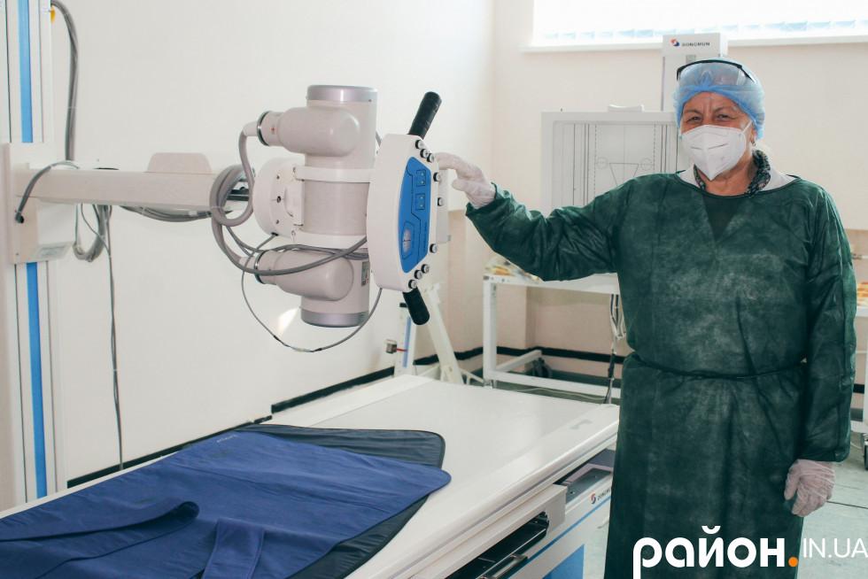 У лікарні стараються, аби була новітня сучасна апаратура