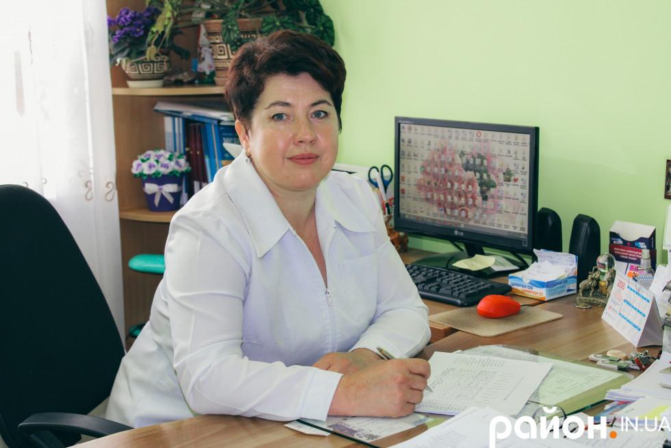 Заступниця з медтчної частини Наталія Ліщук