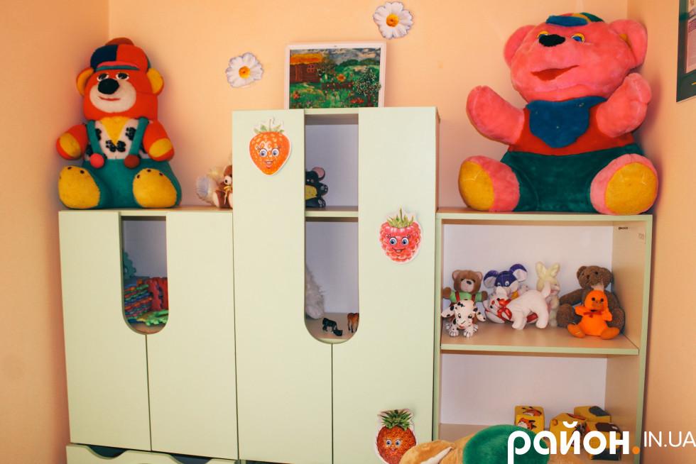 Кімната у відділенні для реабілітації для дітей з інвалідністю