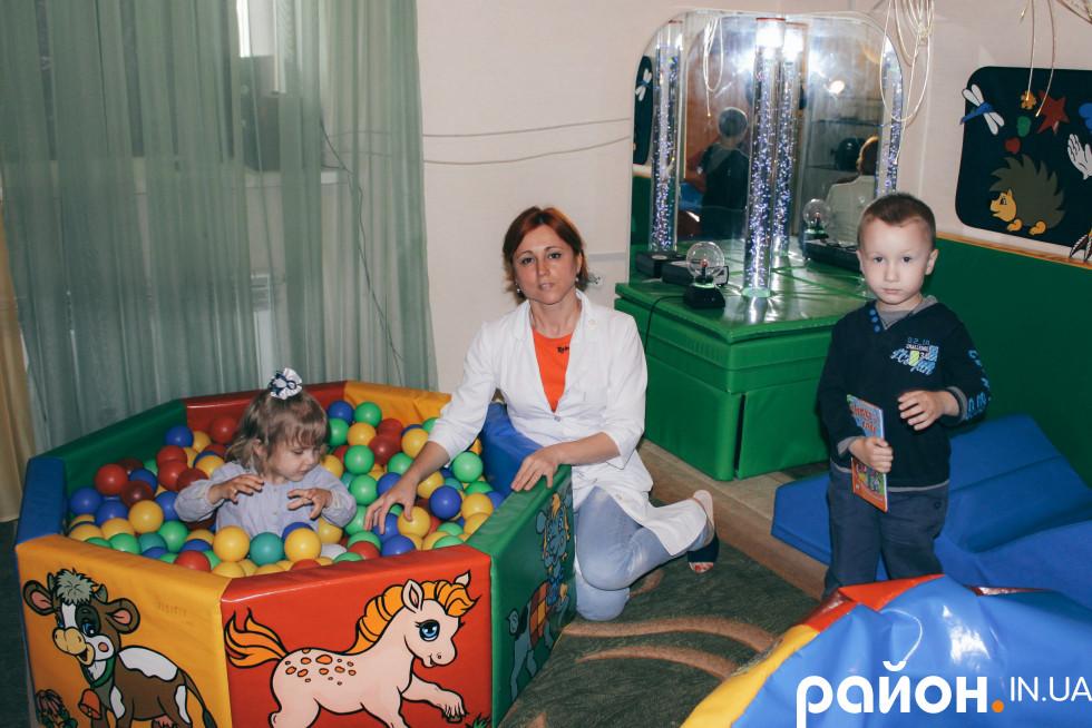 Сенсорна кімната - для послуг з реабілітації дітей з інвалідністю