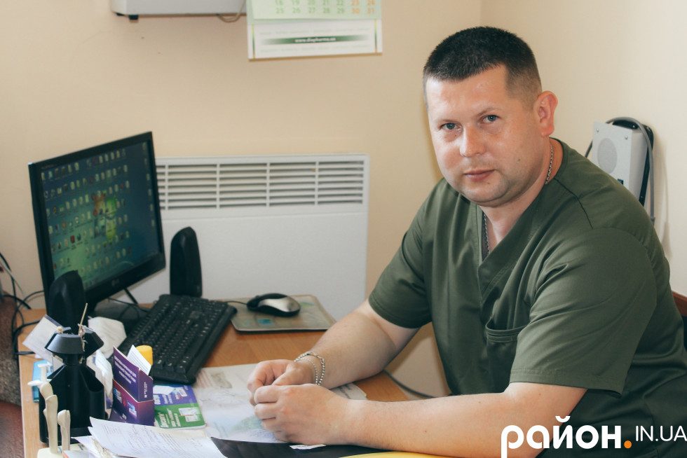 Травматолог Андрій Бондаренко
