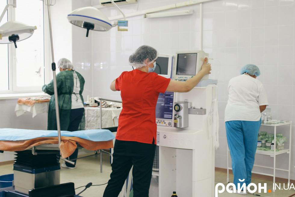 Підготовка операційної ...